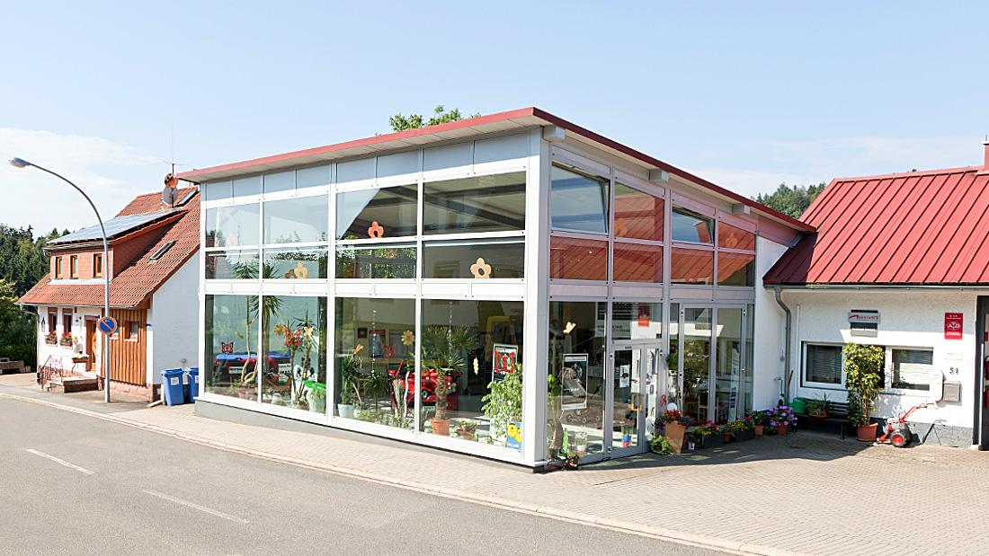 Anbau Autohaus